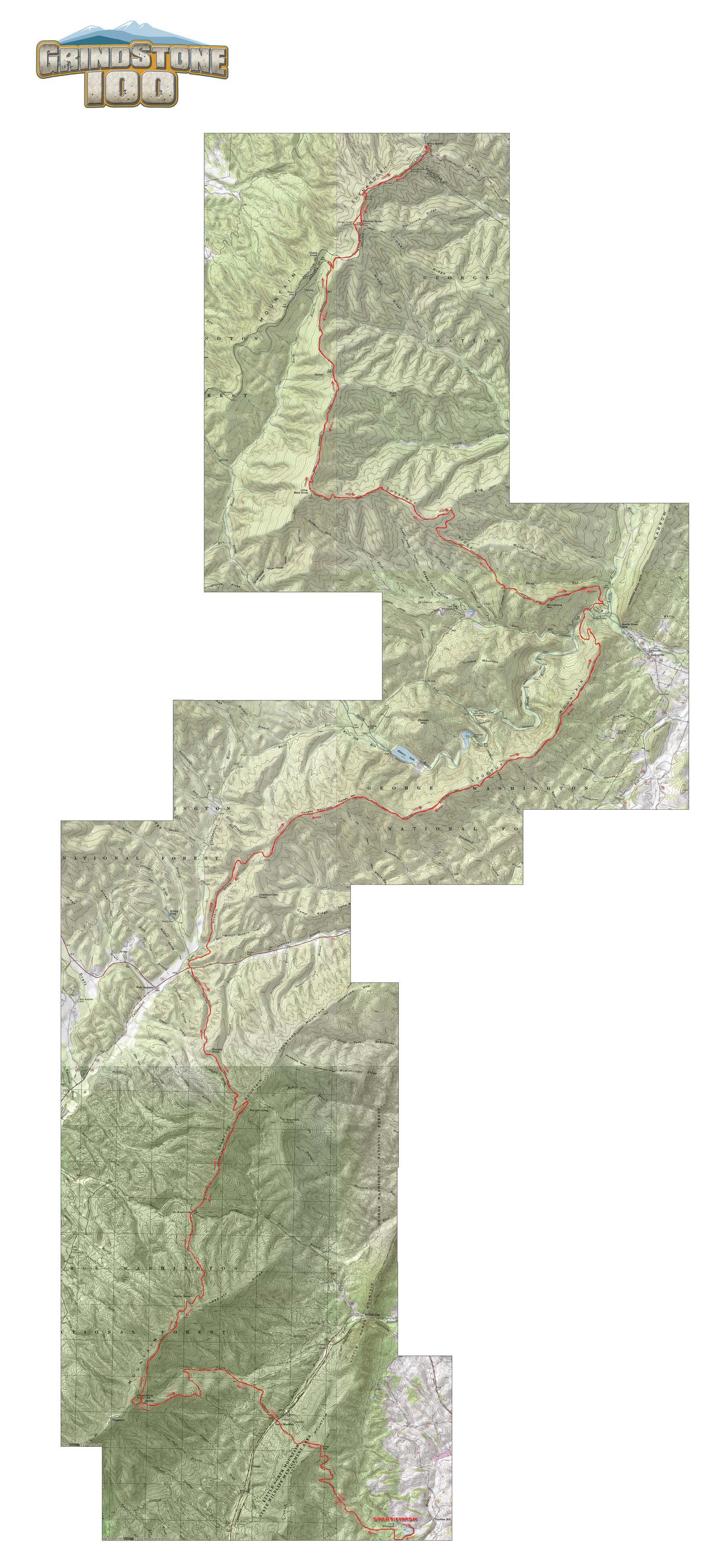 Grindstone Course Map