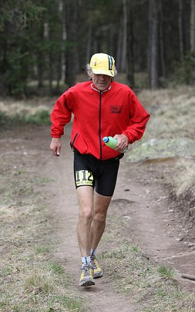Jedirunner at Jemez Mountain Trail 50M - Larry Creveling